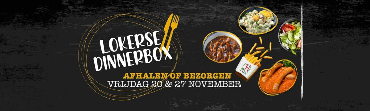 Bestel nu je Lokerse dinnerbox!