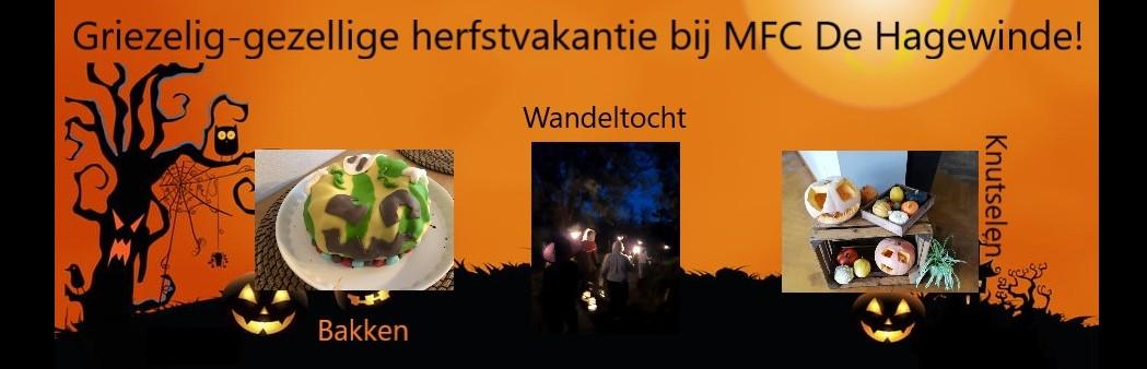 Griezelig gezellige herfstvakantie bij MFC De Hagewinde!